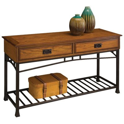 Modern Craftsman Console Table