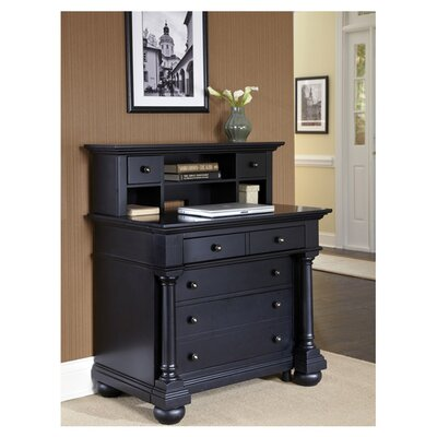 Home Styles St. Croix Expanding Desk with Hutch