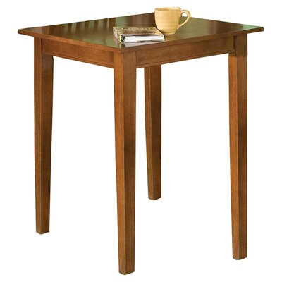 Home Styles Arts and Crafts Pub Table in Cottage Oak