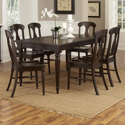 Home Styles Bermuda 7 Piece Dining Table Set