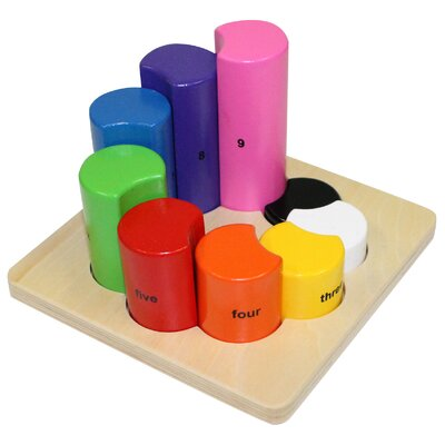 Wooden Rainbow Shape Sorter