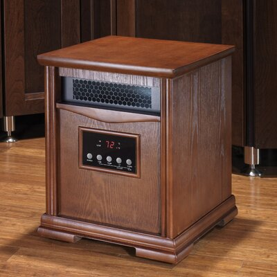 Dynamic 6 Quartz Element 1,500 Watt Infrared Cabinet Space Heater