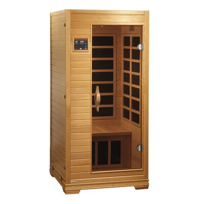 Dynamic Infrared Studio 1-2 Person Carbon FAR Infrared Sauna
