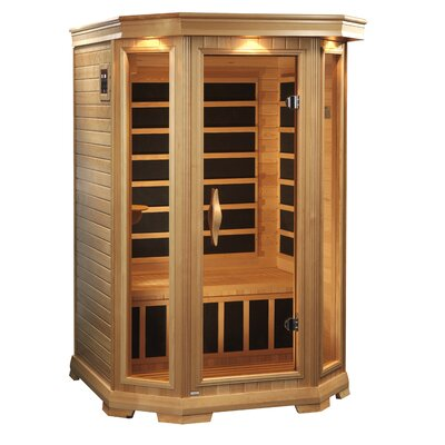 Dynamic Infrared Luxury 2 Person Carbon FAR Infrared Sauna Carbon