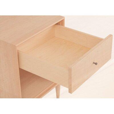 Urbangreen Furniture Midcentury 1 Drawer Nightstand