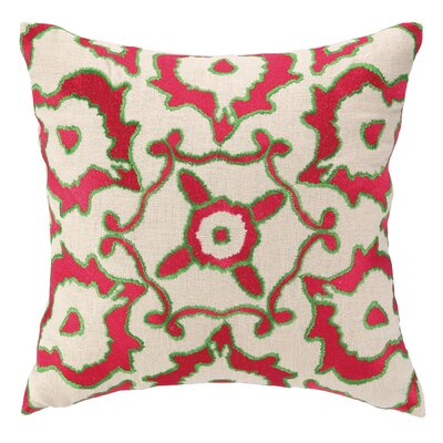 Courtney Cachet Vintage Ikat Embroidered Decorative Pillow