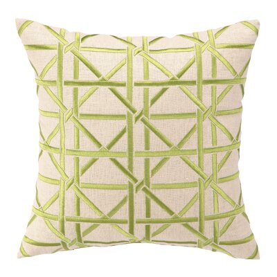 Courtney Cachet Cane Embroidered Decorative Pillow