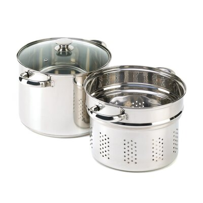 Zingz & Thingz 8-qt. Stockpot with Lid