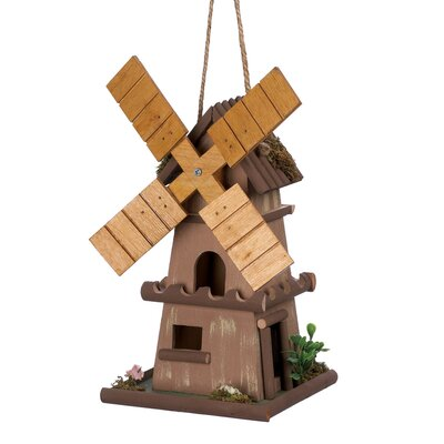 Zingz & Thingz Classic Dutch Windmill Birdhouse