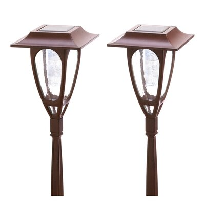 Zingz & Thingz Solar Carriage Lamps