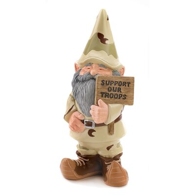 Trooper Garden Gnome Statue