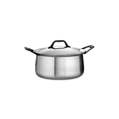 Tramontina Limited Edition Butterfly Stainless Steel 6-qt. Dutch Oven