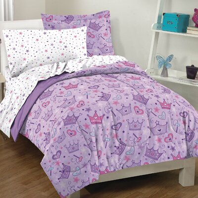 Dream Factory Stars and Crowns Bed Set