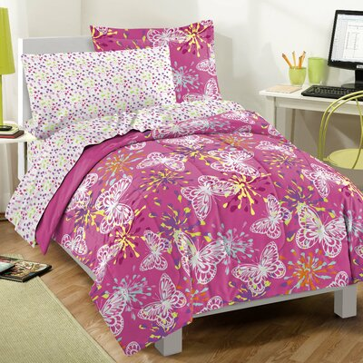 Dream Factory Butterfly Party Bed in a Bag Set