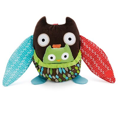 Skip Hop Hug and Hide Owl Stroller Toy