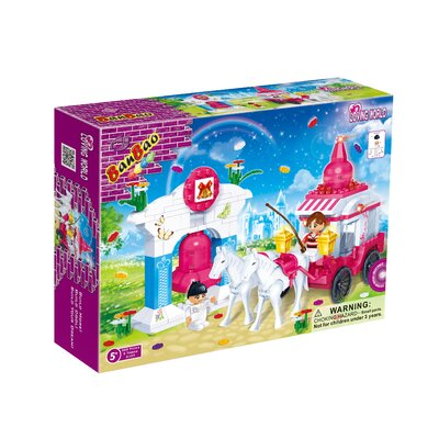Banbao Loving World Wedding Carriage Block Set
