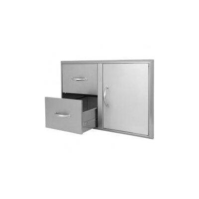 Blaze Grills Access Door and Double Drawer Combo