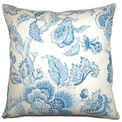 <strong>The Pillow Collection</strong> Yette Toile Cotton / Linen Pillow