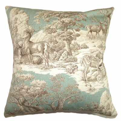 Feramin Toile Cotton Back Pillow