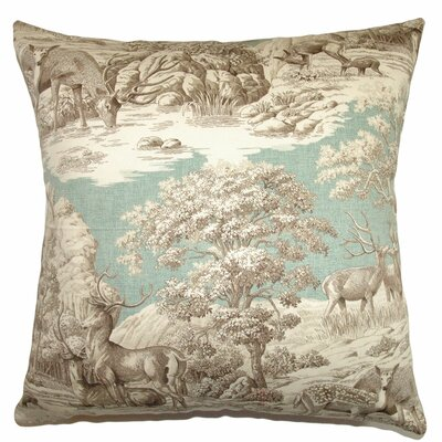 Feramin Toile Cotton Front Pillow