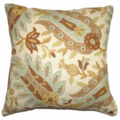 Gafsa Paisley Cotton Pillow