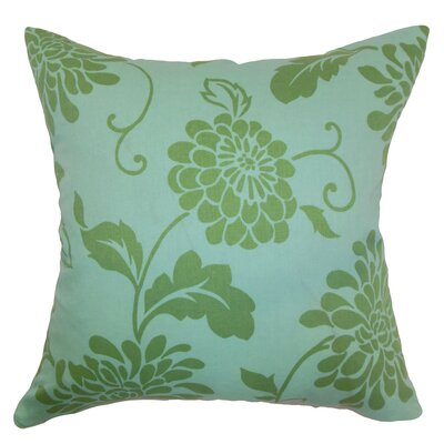 Hanako Floral Cotton Pillow