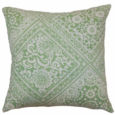 Kayea Floral Cotton Pillow