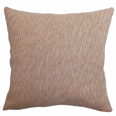 Kaesha Stripes Polyester / Cotton Pillow