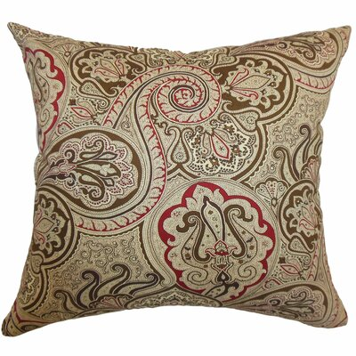 The Pillow Collection Xandraya Paisley Cotton Pillow