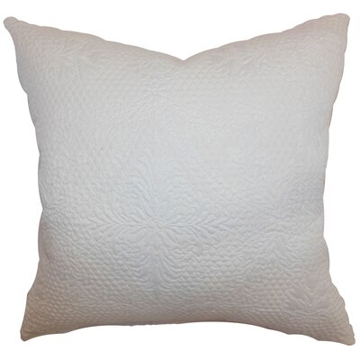 Xafina Quilted Cotton Pillow