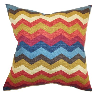 Aiome Zigzag Cotton Pillow