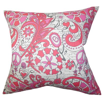 The Pillow Collection Adelpha Floral Pillow