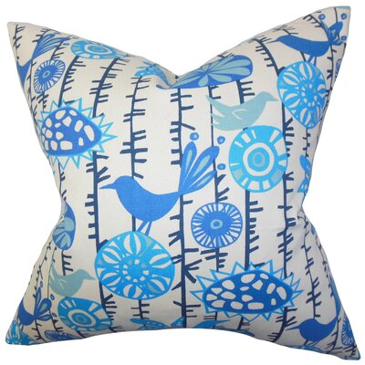 The Pillow Collection Nettle Floral Pillow