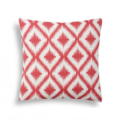 Diamond Ikat Decorative Pillow
