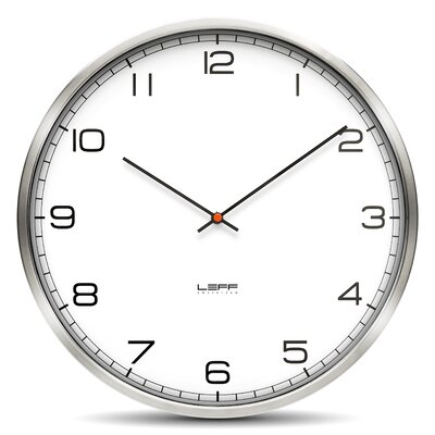 "Leff Amsterdam One45 17.7"" Wall Clock"