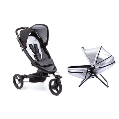 bloom Zen Stroller and Yoga Newborn Nest Combo Set