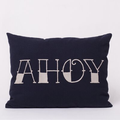 Ortolan LLC Cotton Ahoy Pillow
