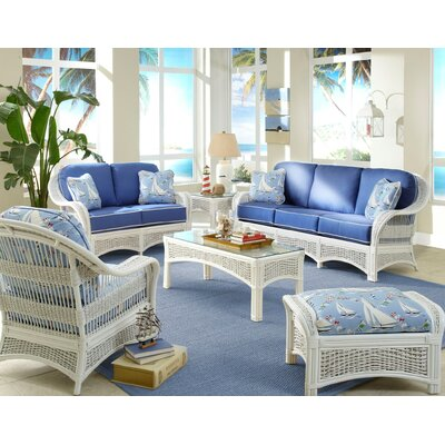 Spice Islands Wicker Regatta Living Room Collection