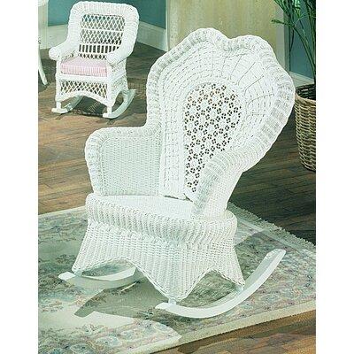 Yesteryear Wicker Serpentine Rocking Chair