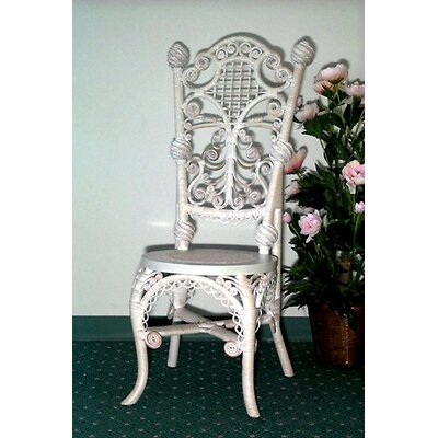 Yesteryear Wicker Ladies Reception Side Chair