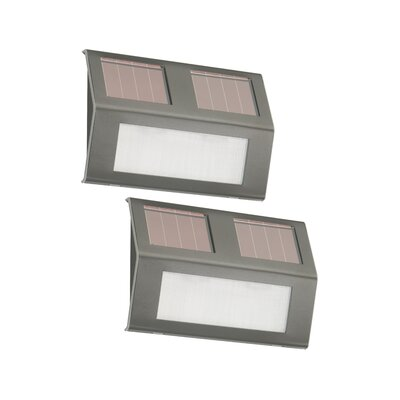 Nature Power Solar Powered Step Lights (Set of 2)