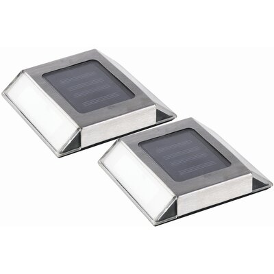 Nature Power Solar Powered Pathway Lights (Set of 2)