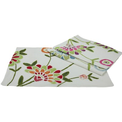 Flora Linens Placemat and Napkin Set