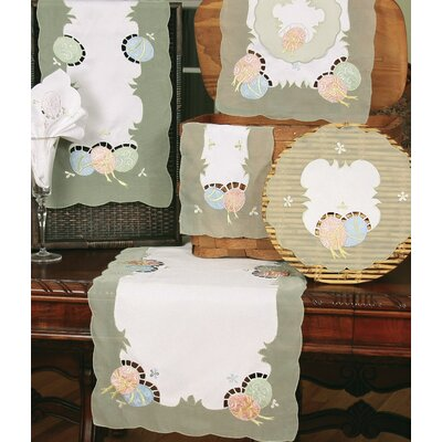 Easter Egg Table Runner and Napkin Set