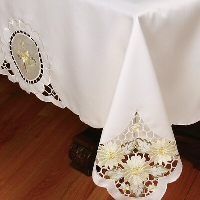 Elegant Daisy Tablecloth