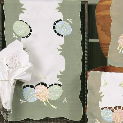 Easter Egg Placemat and Napkin Set
