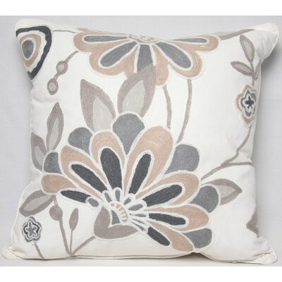 Manor Luxe Flora Cotton Pillow