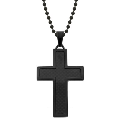 GoldnRox Stainless Steel Cross Pendant