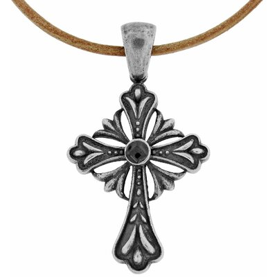Stainless Steel Night Legend's Cross Pendant