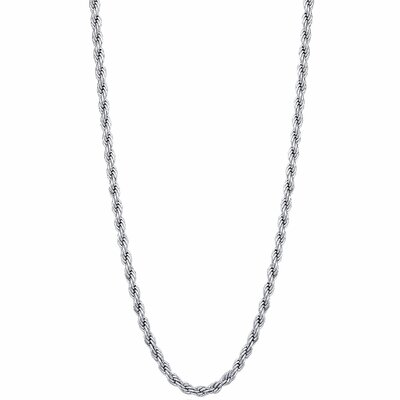 GoldnRox Stainless Steel Rope Chain Necklace
